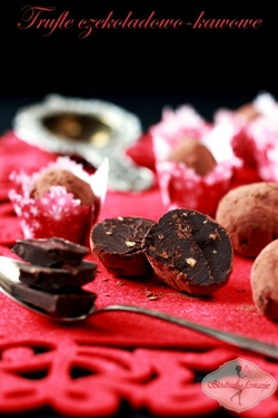 Trufle czekoladowo-kawowe