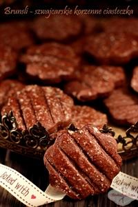 Brunsli – szwajcarskie ciasteczka