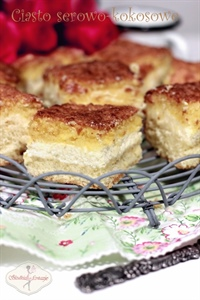 Ciasto serowo-kokosowe