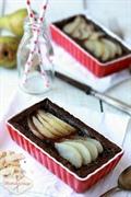 Mini tarty czekoladowe z gruszkami