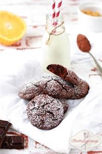 Ciasteczka czekoladowo-pomarańczowe