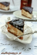 Przepyszny sernik Amaretto z ciasteczkami Amaretti Morbidi