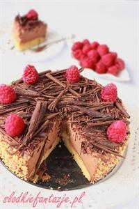 Torcik obłędnie czekoladowy