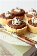 Babeczki czekoladowo-serowe