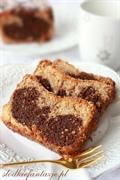 Proste ciasto czekoladowo-waniliowe