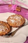 Pełnoziarniste tartaletki z masą jabłeczną