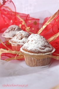 Amerykańskie muffiny z żurawiną
