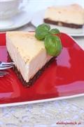 Sernik czekoladowo-limonkowy