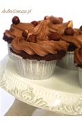 Cupcakes czekoladowo-orzechowe