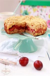Ciasto kruszonkowe ze śliwkami