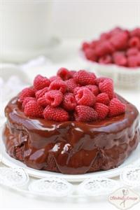 Ciasto nutellowo-czekoladowe
