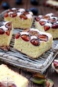 Ciasto piaskowe ze śliwkami