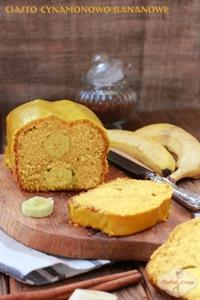 Ciasto bananowo-cynamonowe