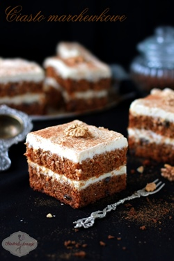 Ciasto marchewkowe II - idealne