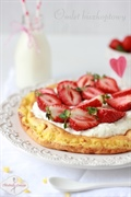 Omlet biszkoptowy z mąki jaglanej