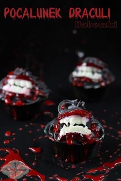 Babeczki Pocałunek Draculi