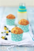 Muffinki cytrynowe z borówkami