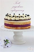Tort jagodowo-cytrynowy