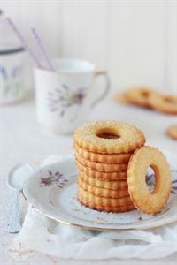 Kruche ciasteczka z cukrem (z przepisu mojej babci)