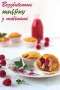 Bezglutenowe muffiny z malinami